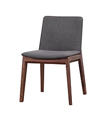 Deco Dining Chair Gray-Set Of Two