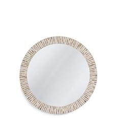 Multitone Bone Mirror, Quick Ship