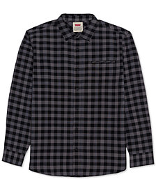 Levi's® Men's Prato Plaid Oxford Shirt
