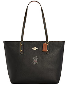 COACH Minnie Motif City Tote