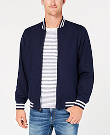 Club Room Men's Varsity Bomber Jacket, Created for Macy's