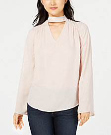 Hippie Rose Juniors' Choker Top