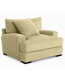 Rhyder 49'' Fabric Armchair - Custom Colors, Created For Macy's