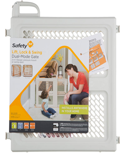 Safety 1st ® Lift Lock and Swing Gate
