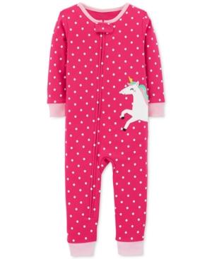 Carters Baby Girls Unicorn Cotton Pajamas