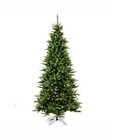 Vickerman 8.5' Camdon Fir Slim Artificial Christmas Tree Unlit