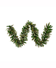 25' Cashmere Artificial Christmas Garland Unlit