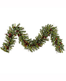9' Cibola Mixed Berry Artificial Christmas Garland Unlit
