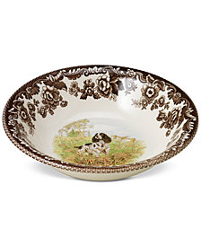 Spode Woodland English Spaniel Cereal Bowl