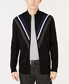 Alfani Men's Zip-Front Cardigan, Created for Macy's