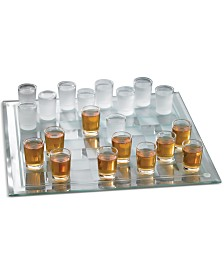 Jay Imports Shot Glass Checkers Game