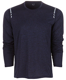 ID Ideology Men's Mesh-Back Long Sleeve T-Shirt, Created for Macy's