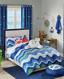 Urban Dreams Ocean Adventures Twin 2-Pc. Comforter Mini Set, Created for Macy's
