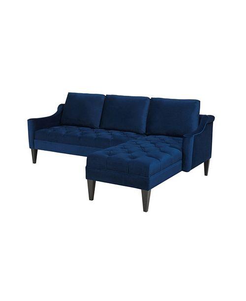 Awe Inspiring Amelie Reversible Sectional Sofa Creativecarmelina Interior Chair Design Creativecarmelinacom