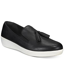 FitFlop Tassel Superskate Slip-On Sneakers
