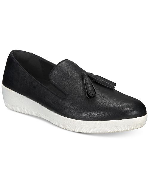 3a3df765f9c FitFlop Tassel Superskate Slip-On Sneakers   Reviews - Sneakers ...