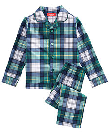 Matching Family Pajamas Mackenzie Plaid Pajama Set, Available in Toddler and Kids, Created For Macy's