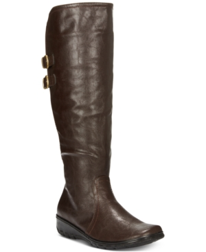 Image of Easy Street Tess Riding Boots Women's Shoes