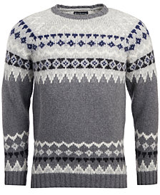Barbour Men's Wetheral Fair Isle Sweater