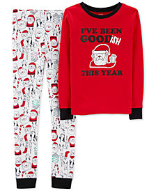 Carter's Little & Big Boys Cotton Pajamas Set