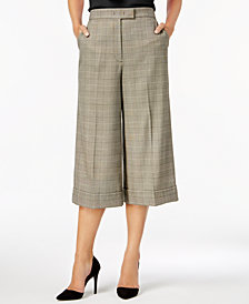Anne Klein Cuffed Crop Pants