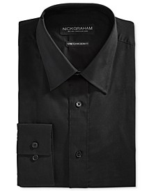 Men's Fitted Stretch Solid Dress Shirt