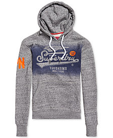 Superdry Men's High Flyers Logo-Print Hoodie