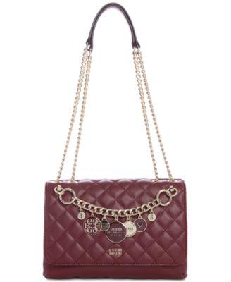 GUESS Victoria Chain Shoulder Bag & Reviews
