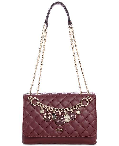Guess Victoria Chain Shoulder Bag 3 Reviews Main Image