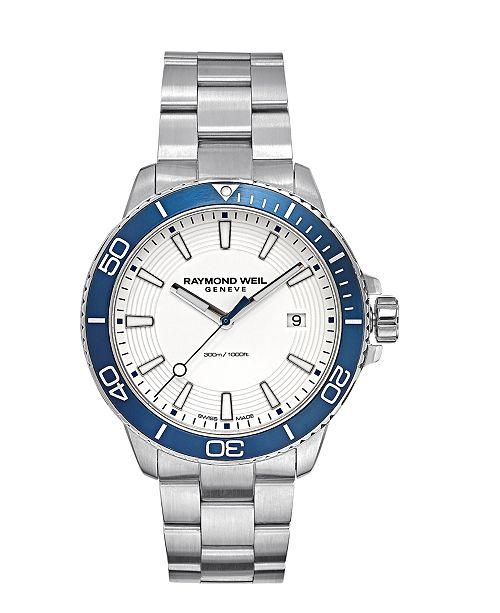 7ff871eea9c ... Raymond Weil LIMITED EDITION Men s Swiss Tango 300 Stainless Steel  Bracelet Watch 42mm