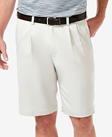 "Men's Cool 18 PRO Classic-Fit Stretch Pleated 9.5"" Shorts"
