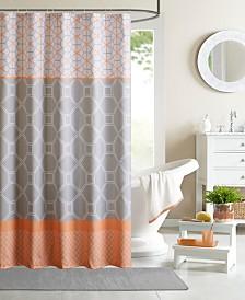 """Intelligent Design Clara 72"""" x 72"""" Shower Curtain"""