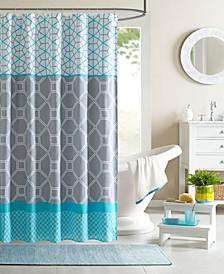 """Clara 72"""" x 72"""" Shower Curtain"""