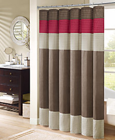 "Madison Park Amherst 72"" x 72"" Shower Curtain"
