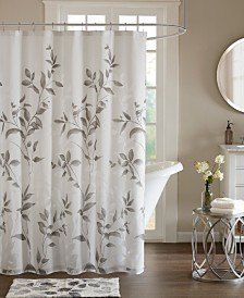"Madison Park Cecily 72"" x 72"" Printed Shower Curtain"