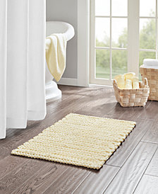 "Madison Park Lasso 20"" x 30"" Yarn Dyed Cotton Chenille Chain Stitch Rug"