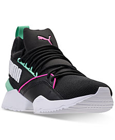 Puma Women's Muse Maia Varsity Casual Sneakers from Finish Line