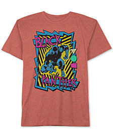 Marvel Big Boys Black Panther Graphic T-Shirt
