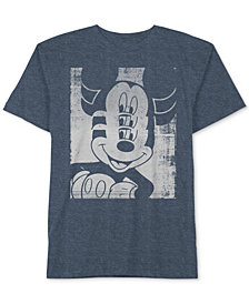 Disney Big Boys Mickey Mouse-Print T-Shirt