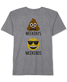 Jem Big Boys Weekdays Emoji Graphic T-Shirt