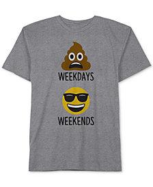 Jem Big Boys Weekdays Emoji Graphic T-Shirt