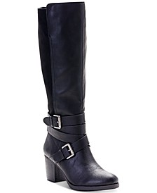 Jomaris Block-Heel Boots, Created for Macy's