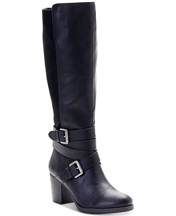 Style & Co Jomaris Block-Heel Boots, Created for Macy's