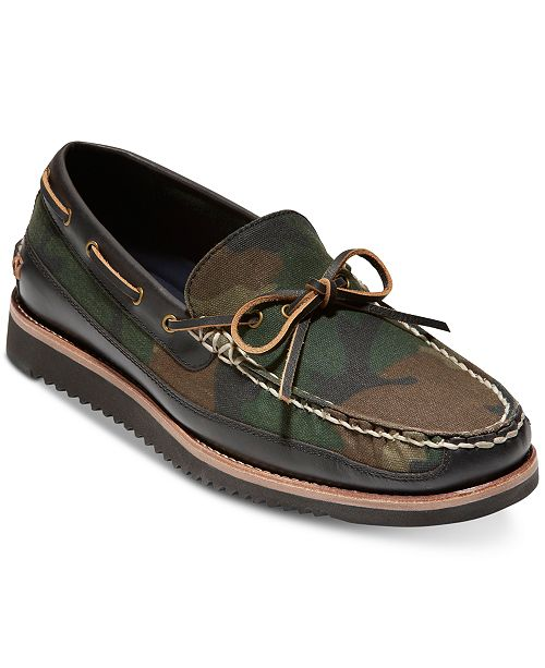 80d89606443 Cole Haan Men s Pinch Rugged Camp Moccasins   Reviews - All Men s ...