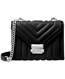 MICHAEL Michael Kors Whitney Mini Quilted Leather Shoulder Bag