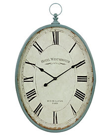 Sonia Oval Wall Clock