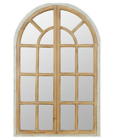 Coralie Arch Wall Mirror with Doors