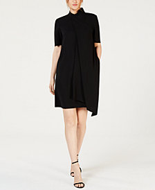 Anne Klein Tie-Neck Dress