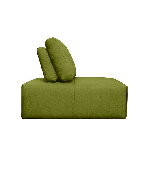 Moe's Home Collection Nathaniel Slipper Chair Green