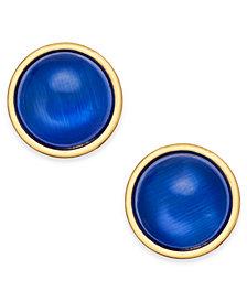 kate spade new york Gold-Tone Crystal Stud Earrings